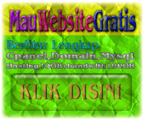 Domain dan Hosting( Gratis )