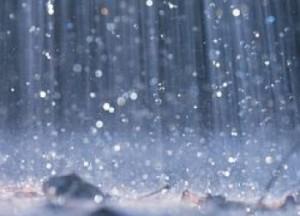 hukum najis percikan air hujan